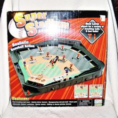 Super Stadium Baseball Game with Fun Realistic Baseball Action Game Zone VGUC 6+ #InternationalPlaythings
