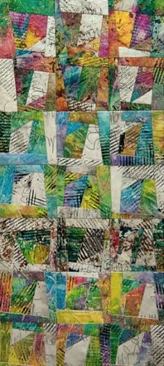 Hustle and Bustle by Maggie Paykel   Stitch Links   Contemporary Tetile Art