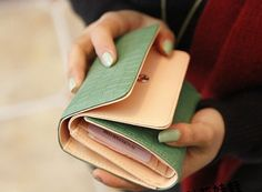 Hey, I found this really awesome Etsy listing at http://www.etsy.com/listing/154133772/artificial-leather-wallet-women-wallet