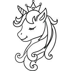 Pictures Of Unicorn Coloring Pages In 2020 Unicorn Pictures