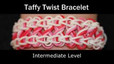 Rainbow Loom® TaffyTwist Bracelet - bracelet - http://jewelry.artpimp.biz/anklets/rainbow-loom-taffytwist-bracelet-bracelet/
