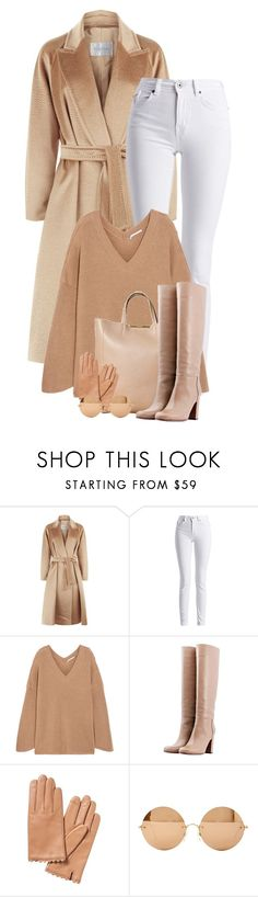 """Untitled #2364"" by lullilia ❤ liked on Polyvore featuring MaxMara, Barbour International, STELLA McCARTNEY, CÉLINE, L'Autre Chose and Victoria Beckham"