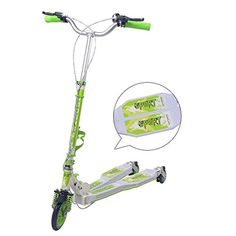 XLM Adults 3 in 1 Foldable 3wheel 2 Ways of Brake Multifunctional Swing Frog Scooter Breaststroke Scooter Scissor Kick Scooter XLM911 GreenWhite >>> Read more reviews of the product by visiting the link on the image. Scissor Kicks, Kids Scooter, 3rd Wheel, 2 Way, Multifunctional, Scissors, Link, Image, Bicycle Kick