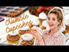 Apple Crumble Cupcakes | Zoella - YouTube