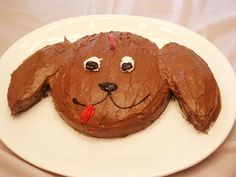 Puppy birthday cake | My s-i-l made this puppy cake for her … | Flickr