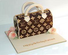 Sugarbloom Cupcakes - Perth WA: Louis Vuitton Handbag Cake