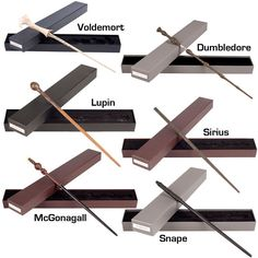 Wands from Harry Potter series.                                                                                                                                                      Mais
