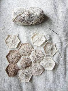 .Couleurs douces pour hexagones