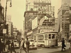 New York in the 1940s.