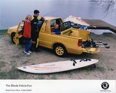 Skoda Felicia Fun Pick-Up Press Photograph Press Photo, Felicia, Cars And Motorcycles, Digital Camera, Baby Items, Skateboard, Surf, Clever, To Go
