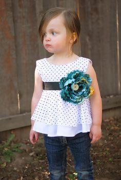 This blog has some of the cutest little girl DIY's!