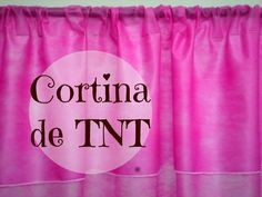 CORTINA DE TNT PASSO A PASSO