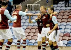 Clarets midfielder Scott Arfield quickly shrugged off Saturday's derby disappointment to help Burnley climb to fourth in the Championship on Tuesday night.