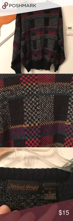 Vintage Cosby Sweater Size L Nothing warms you up better in winter than a multicolored Bill Cosby Sweater!! Size large michael gerald Sweaters Crew & Scoop Necks