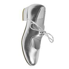 Low Heel Starlite Backflip PU Strap Tap Shoe
