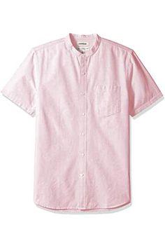 Collarless Shirt Men, Black Denim Shirt, Mens Clothing Styles, Shirt Outfit, Button Down Shirt, Men Casual, Fashion Outfits, Amazon, Mens Tops