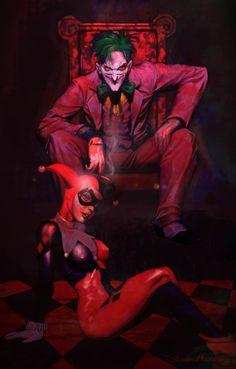 Joker and Harley.
