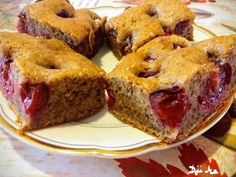 Diós- meggyes (poharas sütemény) Fruit Recipes, Banana Bread, Muffin, Breakfast, Dios, Morning Coffee, Muffins, Cupcakes