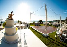 Salt Creek Beach Reception With Orangecountybeachweddings