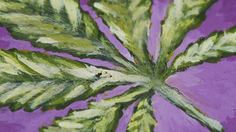 Weed Leaf Speedpainting / How to draw a weed leaf / Drawing a weed LEAF Leaf Drawing, Painted Leaves, Light Painting, Still Life, Weed, Channel, Medical, Inspirational, Paintings