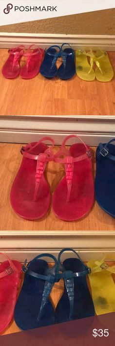 Jelly sandals Good used condition Shoes Sandals