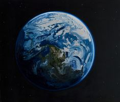 Erik Olson Earth, 2011 oil on canvas, 72 x 84 inches Guache, Impressionist Art, Impressionism, To Infinity And Beyond, Art Plastique, Art Blog, Art Inspo, Painting & Drawing, Pour Painting