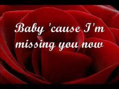 Michael Bolton - Missing you now (Lyrics)