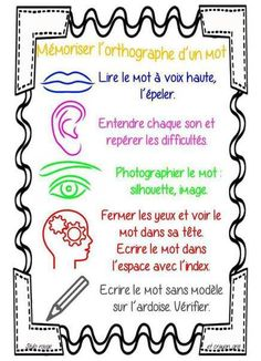 Astuces apprentissage mots