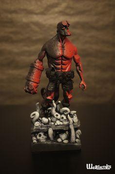 Wetworks – Hellboy Figure Custom | Geek Art – Art, Design, Illustration &…