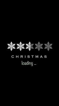 Loading Christmas  #Christmas #Wallpaper