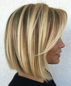 Hair highlights and lowlights shoulder length long bobs 46 Ideas for 2019 Bob Hairstyles For Fine Hair, Haircuts For Long Hair, Cool Hairstyles, Bob Haircuts, Hairstyle Ideas, Hair Ideas, Straight Haircuts, Layered Hairstyles, Modern Hairstyles