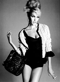 bighair Candice Swanepoel | Mario Testino | Vogue Italia February 2011