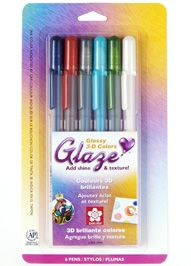 Glaze® 3-D Glossy Ink - Sakura Of America ... Power To Express