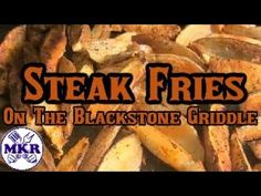 How To Make Steak Fries On The Blackstone Griddle How To Make Steak, Blackstone Griddle, Griddles, Bbq Grill, Kitchen Recipes, Grilling Recipes, Fries, Barbecue Pit, Baking Recipes