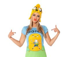 'Adventure Time' clothing goes algebraic