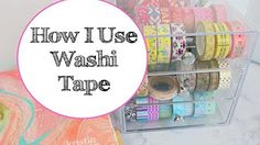 (16) How to Use Washi in your Planner & (Closed) Giveaway - YouTube