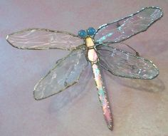 dragonfly suncatcher stained glass - Google Search