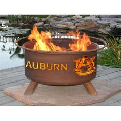 Auburn Tigers Patina Fire Pit...I want this for my future home!!!!!!!!!!!!