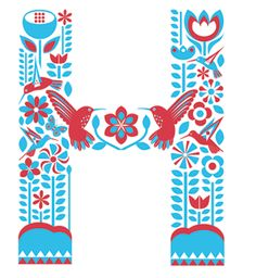 Beautifully illustrated letters - Kate McLelland