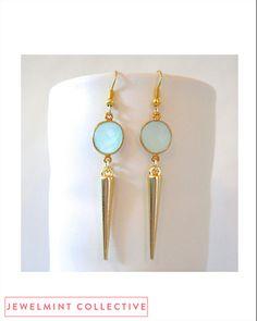 The Spike Earrings by JewelMint.com, $40.00