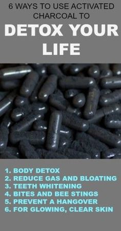 6 Ways to Use Activated Charcoal to Detox Your Life | The World Of Health