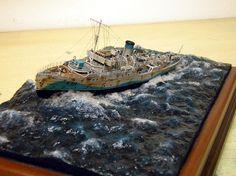 Flower Class corvete HMS Pennywort