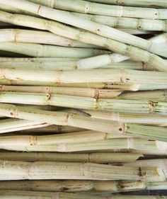 Sugarcane, raw and ready