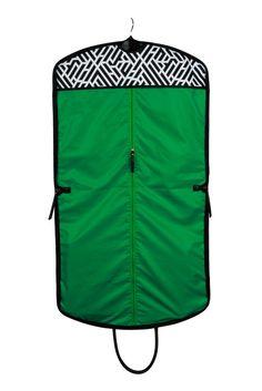 Labyrinth Onyx Wayfarer Garment Bag http://www.hudsonandbleecker.com/collections/garment-bags/products/wayfarer-garment-bag-labyrinth-onyx