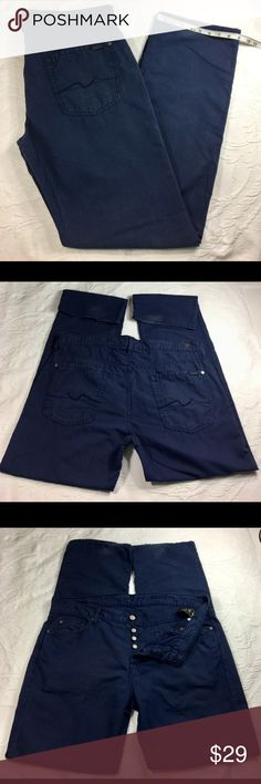 FOR ALL 7 MANKIND Men's Pants Sz 36-35 Standard Fi A little worn in the boots, the rest Good condition see pictures for more details and measures 7 For All Mankind Pants Chinos & Khakis