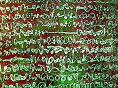 Asemic Writing by Jean-Christophe Giocottino, Accidental Mysteries, 10.20.13: Asemic Writing, Open to Interpretation: Design Observer