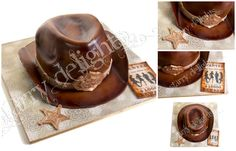 This is a cake a made for friend's birthday. His wife wanted to surprise him as they had cowboy themed birthday party weekend away and secretly asked me to do something Western. I thought Cowboy hat would be great :) I just started to enjoy carving cakes so here was a great opportunity to make …