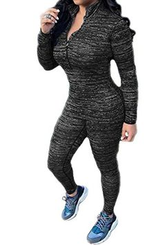 Pink Queen Women Fall Long Sleeve Shirts Tight Leggings 2pcs Sport Set Twinset *** Want additional info? Click on the image. (Note:Amazon affiliate link)