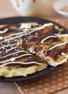 Okonomiyaki, la drôle de pizza japonaise | Cuisine en Bandoulière