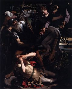 Caravaggio. The Conversion of Saint Paul. 1601.